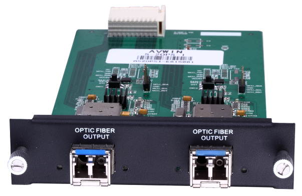 S-2OPS-I 2 channels Single Mode Fibre-Optical input board