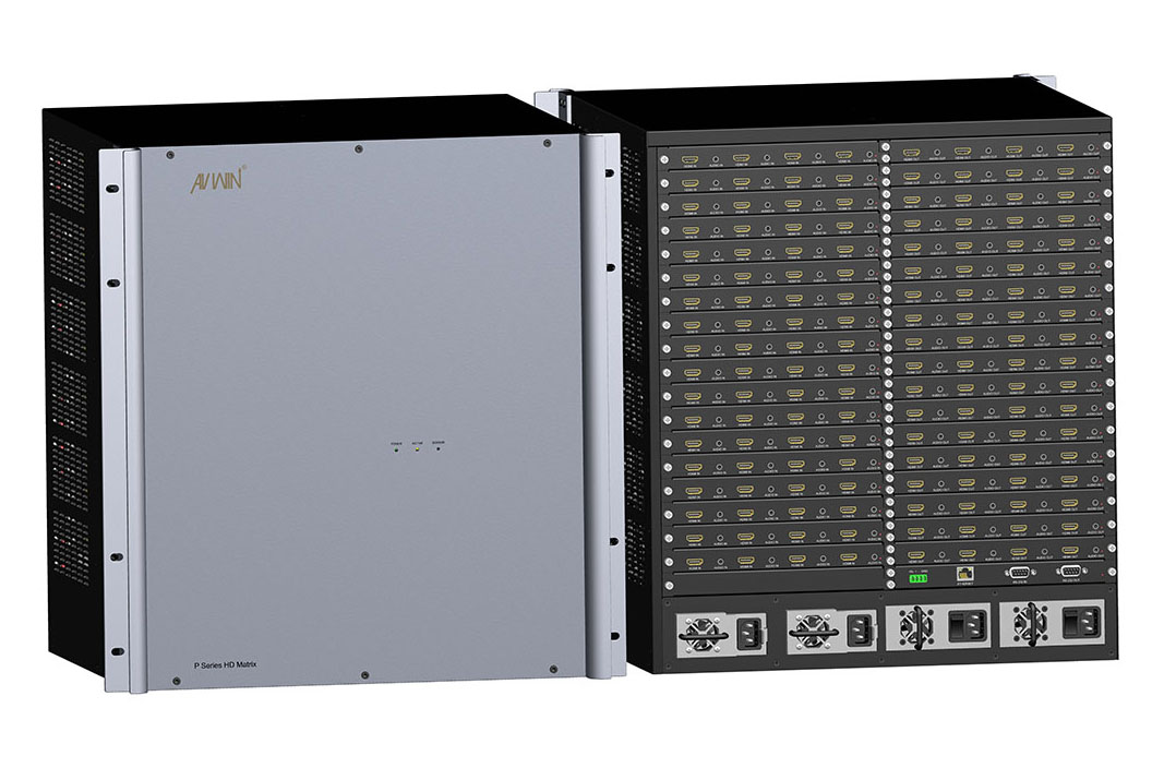 KP-72MIX 72x72 HD Modular Video Wall Processor